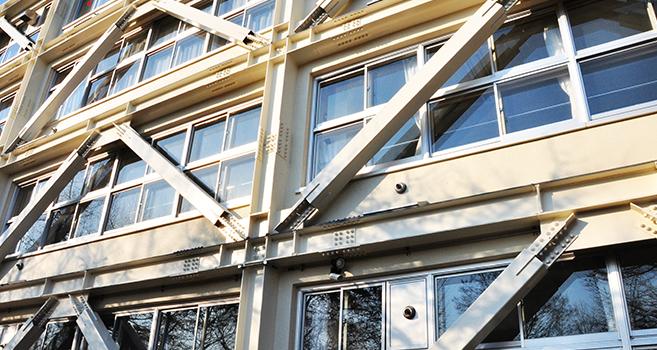 耐震設計の建物の画像