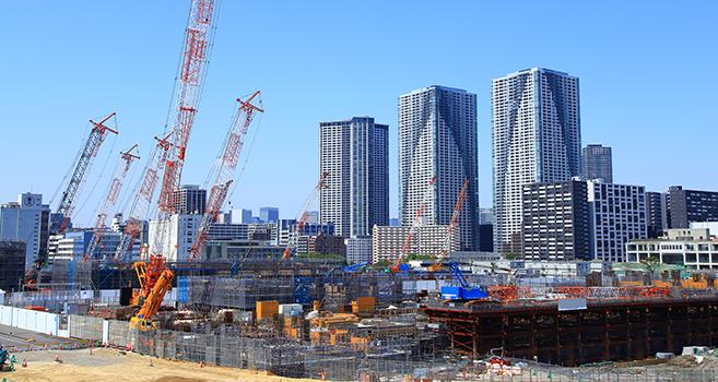 建設風景の画像