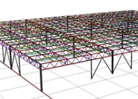 構造解析の図