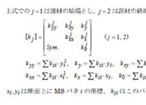 構造計算図