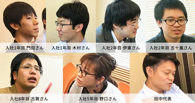 座談会メンバー画像